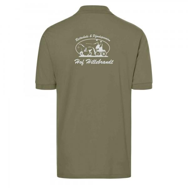 Poloshirt Herren - olive