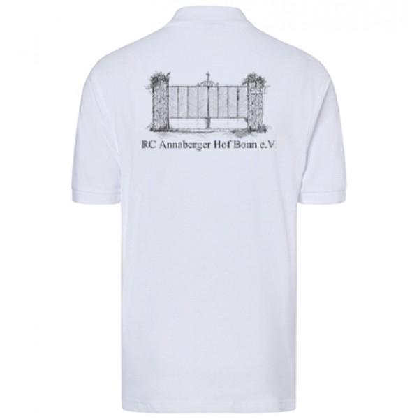 Herren Poloshirt - white