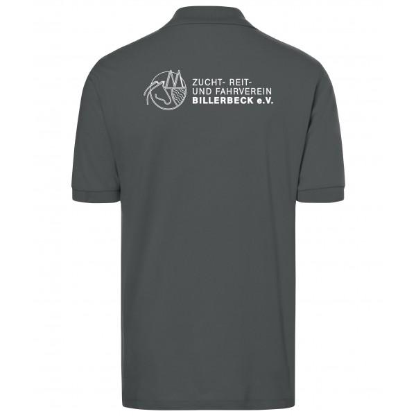 Poloshirt Herren - graphite