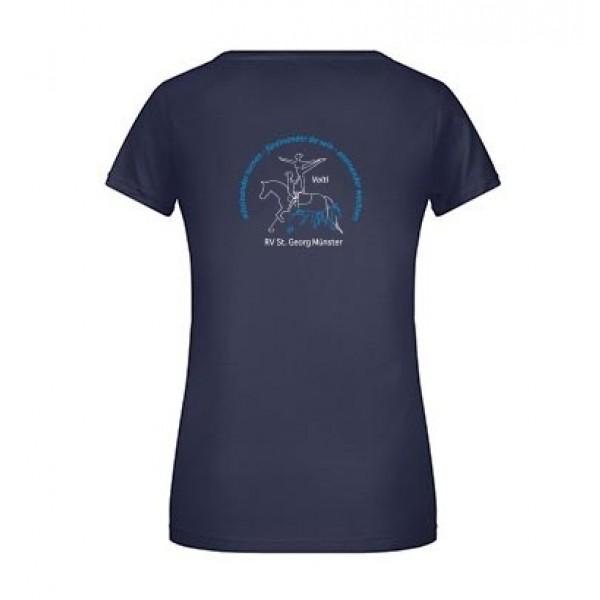 T-Shirt Damen Volti - navy