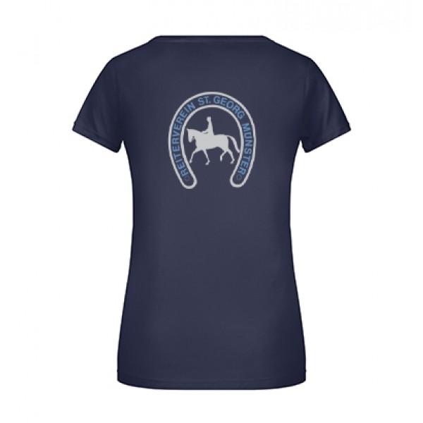 T-Shirt Damen - navy