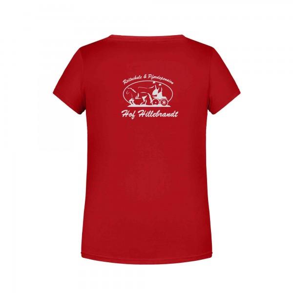 T-Shirt Kinder - red