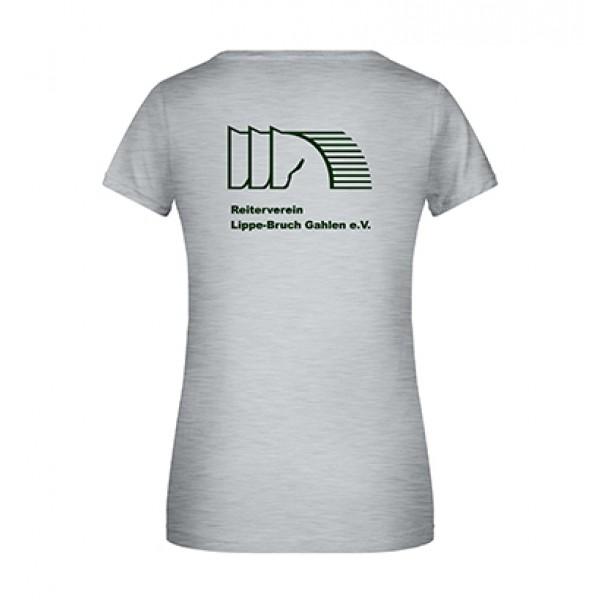 T-Shirt Damen - grey-heather