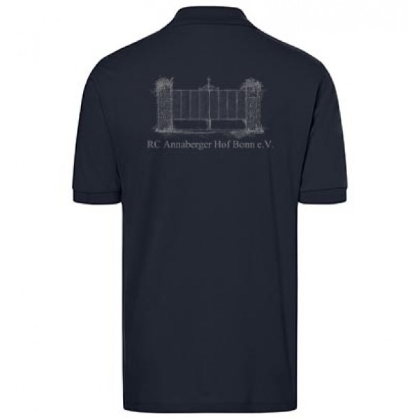 Herren Poloshirt - navy