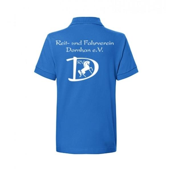 Kinder Poloshirt - royal