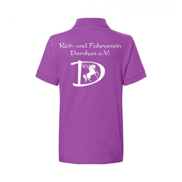 Kinder Poloshirt - purple