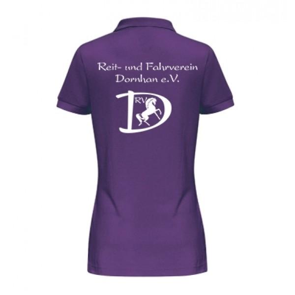 Damen Poloshirt - purple