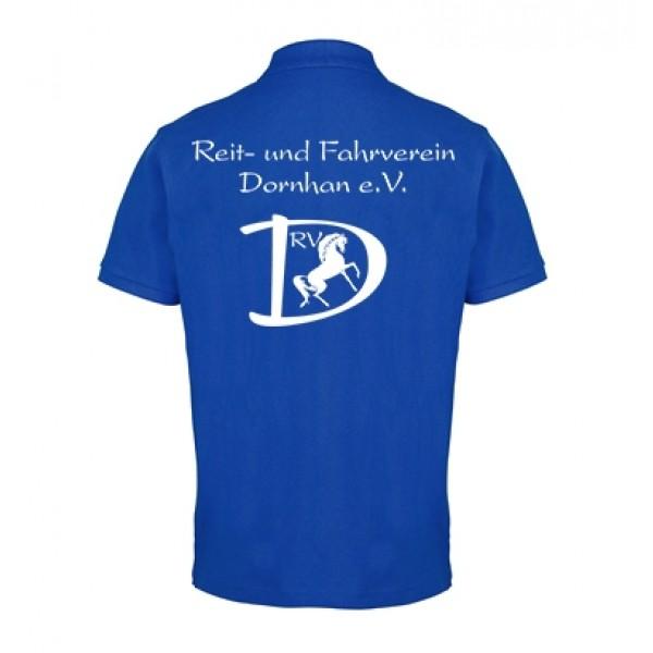 Herren Poloshirt - royal