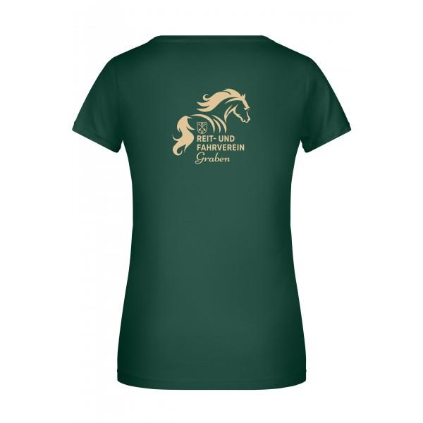 T-Shirt Damen - dark green