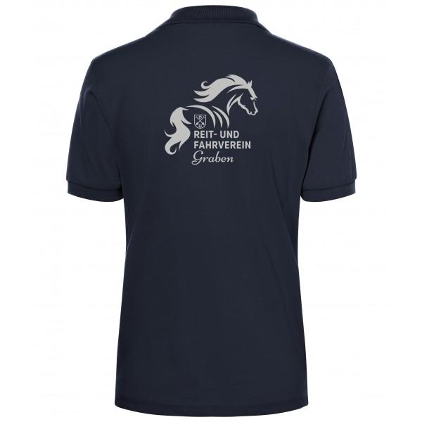 Poloshirt Damen - navy