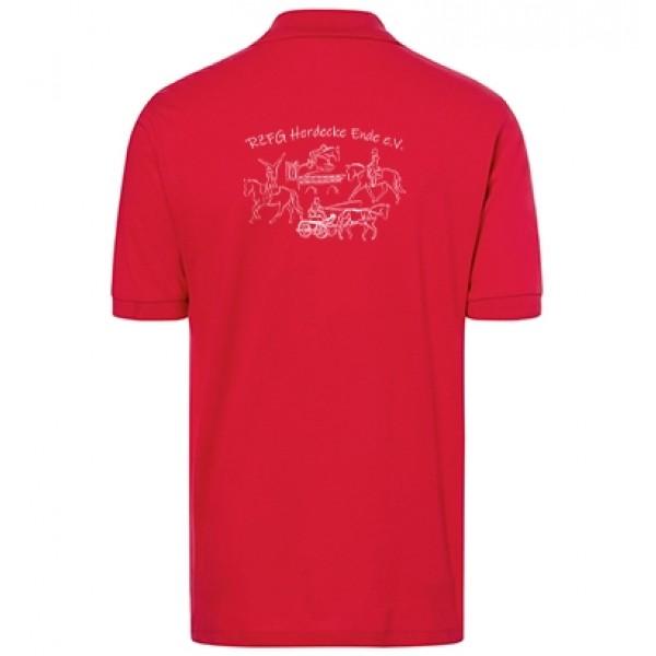 Poloshirt Herren -red