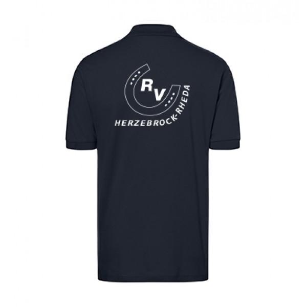 Poloshirt Herren-navy