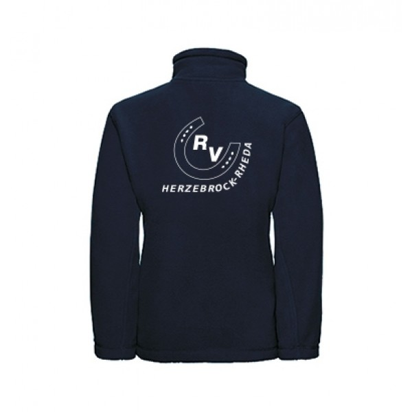 Fleecejacke Kinder-navy
