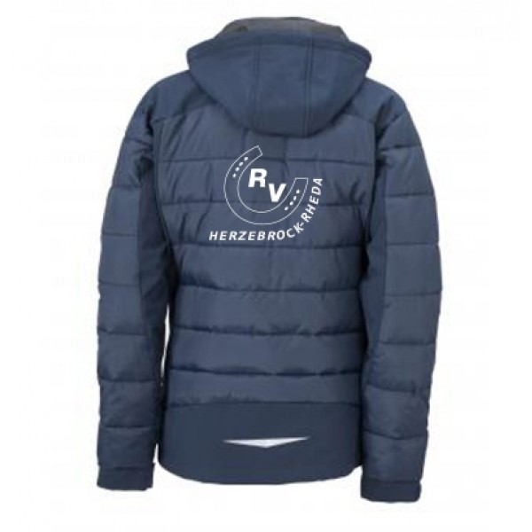 Thermojacke Hybrid Damen-navy