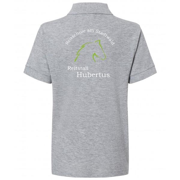 Poloshirt Kinder - grey-heather