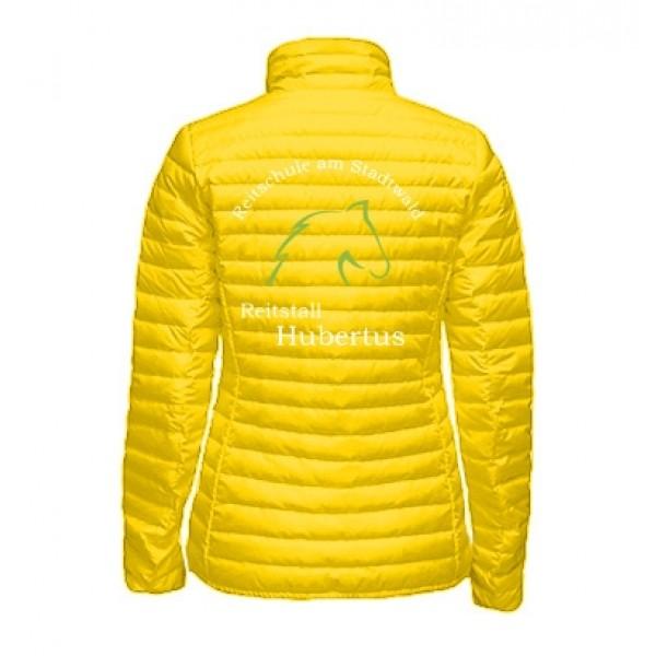 Steppjacke Damen - yellow