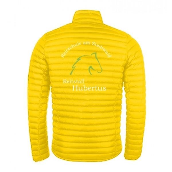 Steppjacke Herren- yellow
