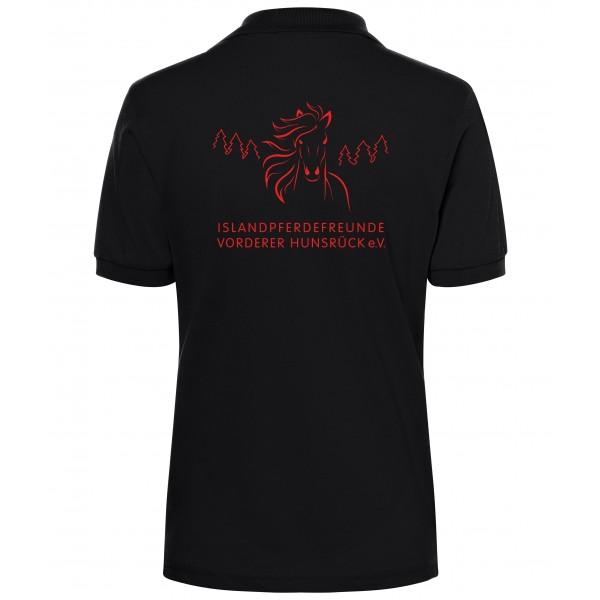 Poloshirt Damen - black