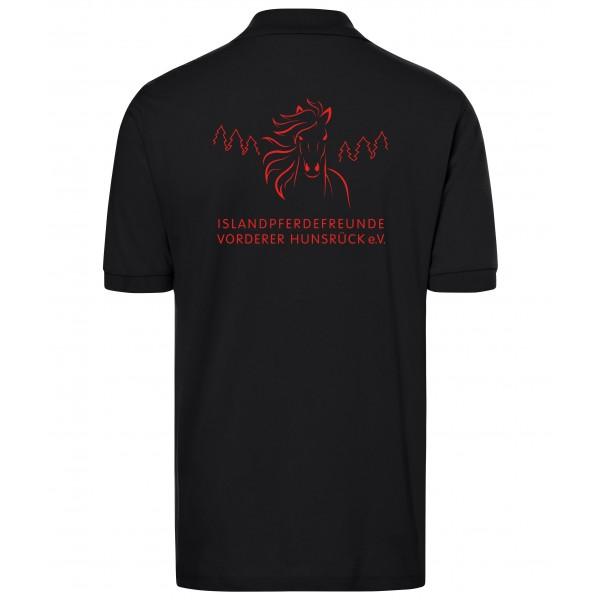 Poloshirt Herren - black