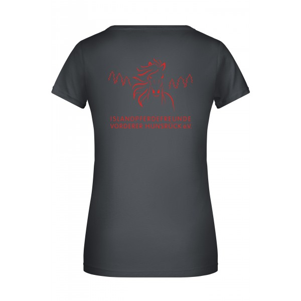 T-Shirt Damen - graphite