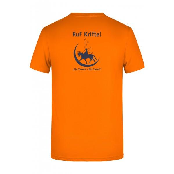 T-Shirt Herren - orange