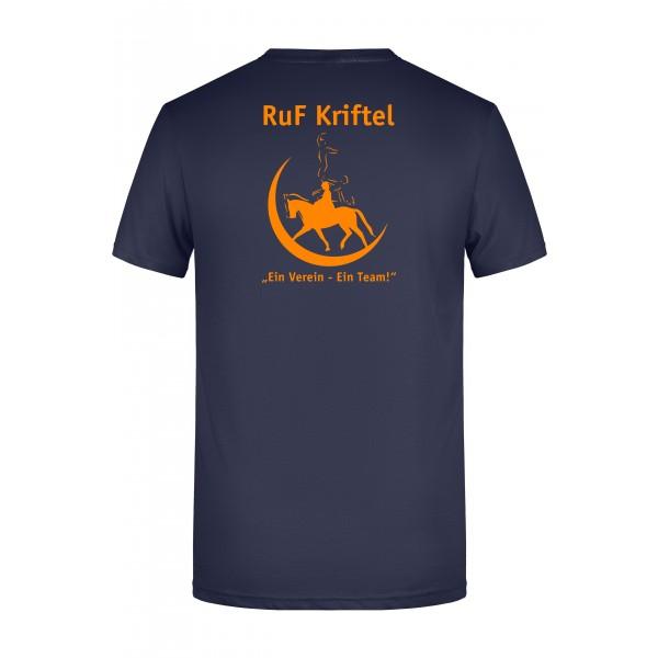 T-Shirt Herren - navy