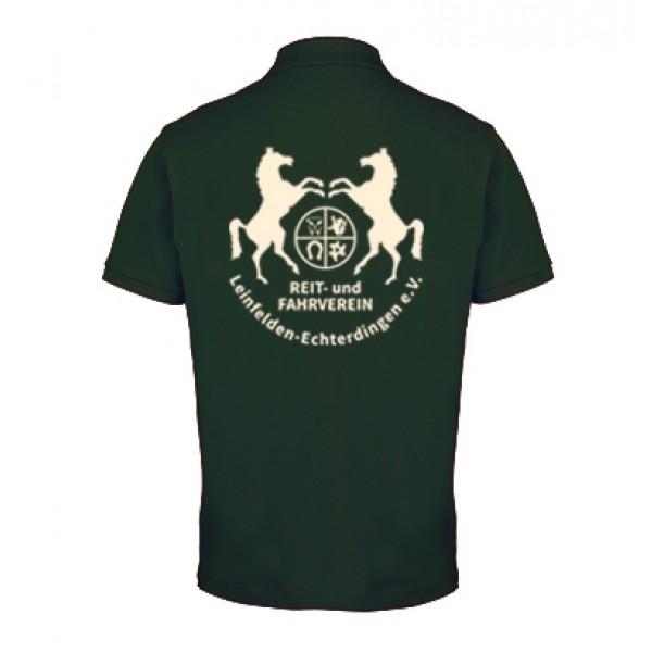 Herren Poloshirt - bottle