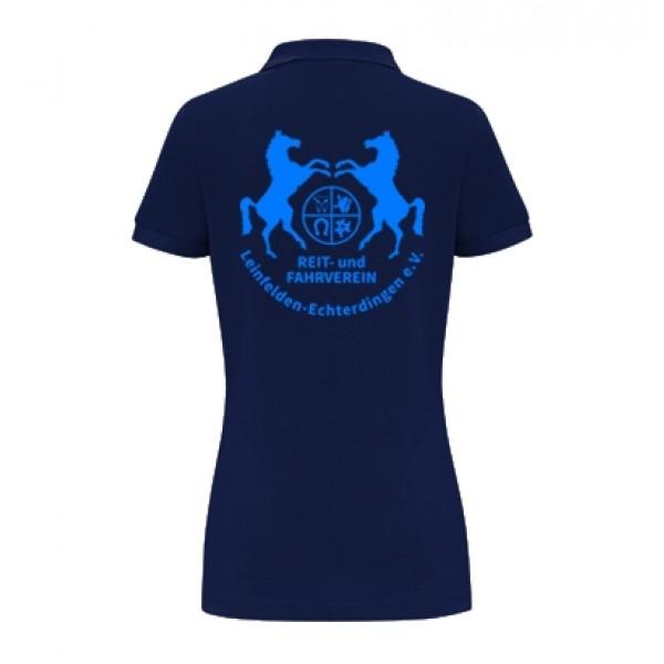 Damen Poloshirt - navy