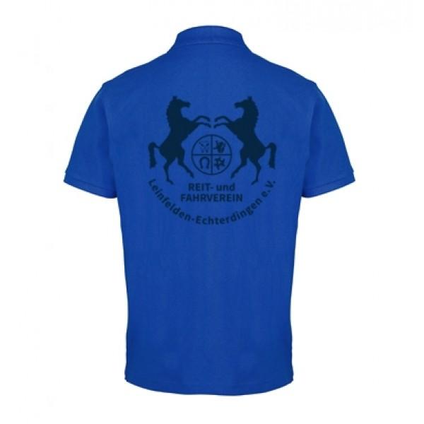 Herren Poloshirt - bright royal