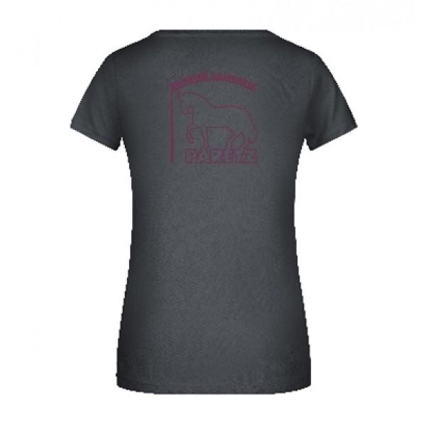 T-Shirt Damen -graphite