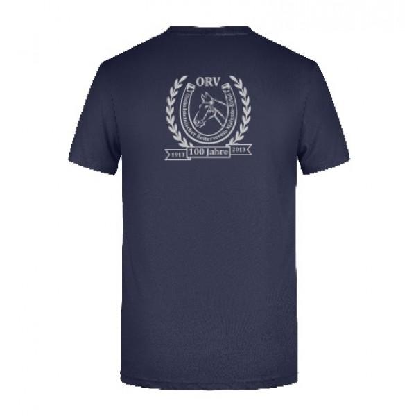 T-shirt Herren- navy