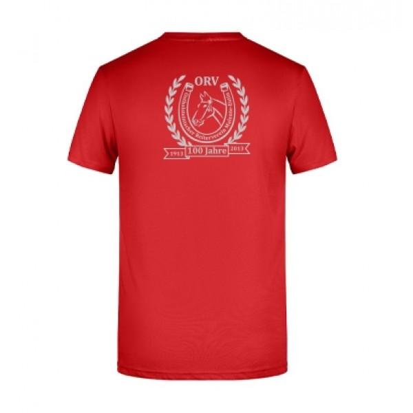 T-Shirt Herren - rot