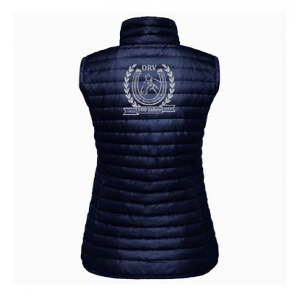 Steppweste Damen - navy