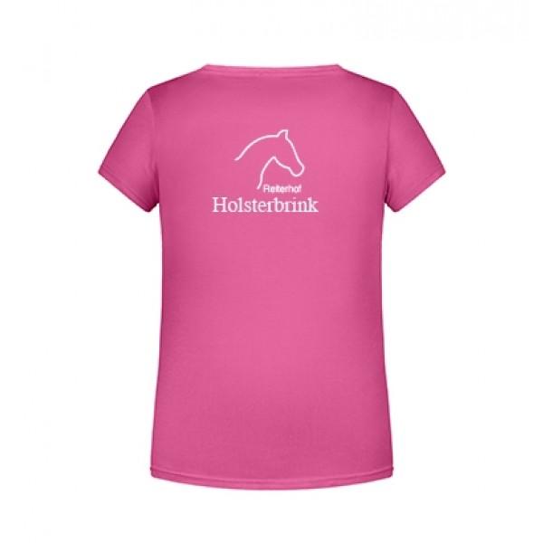 T-Shirt Kinder - pink