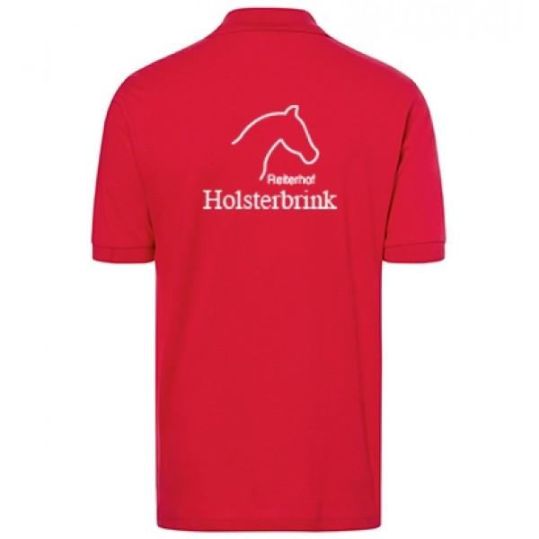 Poloshirt Herren - rot