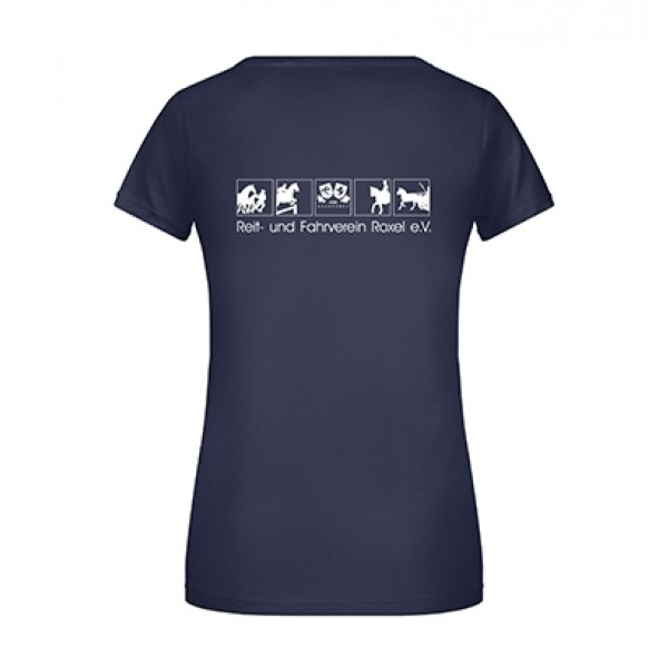 T-Shirt Damen - navy