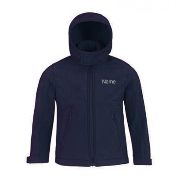Softshelljacke Kinder- navy